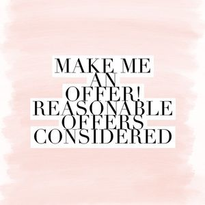 💕 All Reasonable Offers Accepted 💕